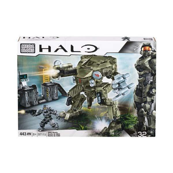 メガブロック ヘイロー Mega Bloks Halo UNSC Mantis, Model 97115, 443 Piece