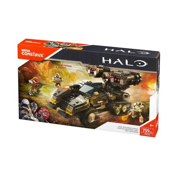 メガブロック メガコンストラックス ヘイロー Mega Construx Halo UNSC Wolverine Charge