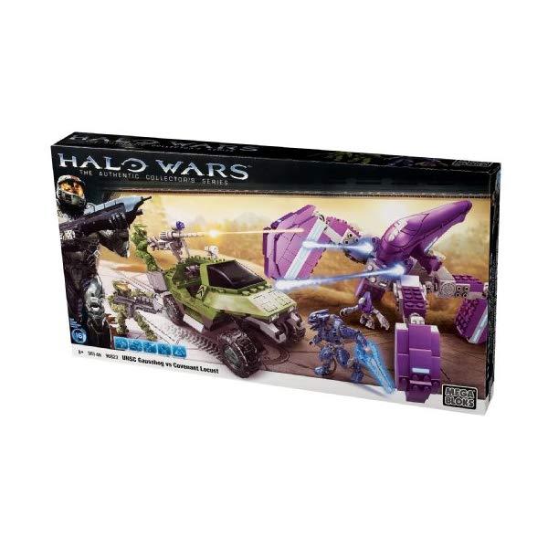 メガブロック ヘイロー Mega Bloks Halo Wars UNSC Gausshog vs. Covenant Locust