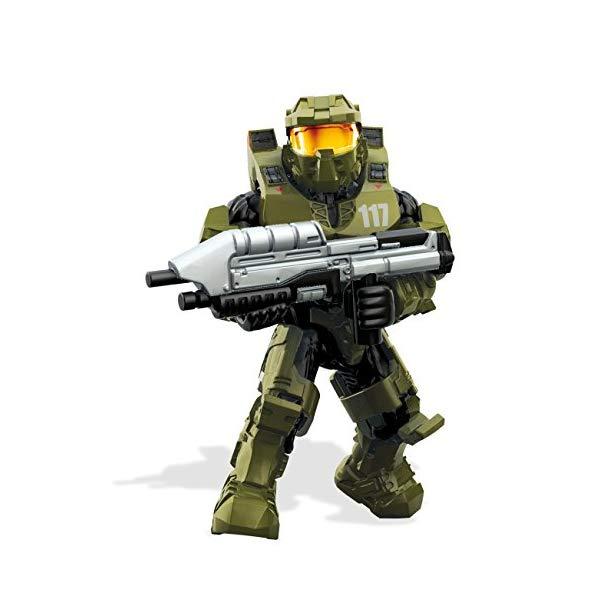 メガブロック メガコンストラックス ヘイロー Mega Construx Halo Heroes Master Chief Mark IV Armor Figure