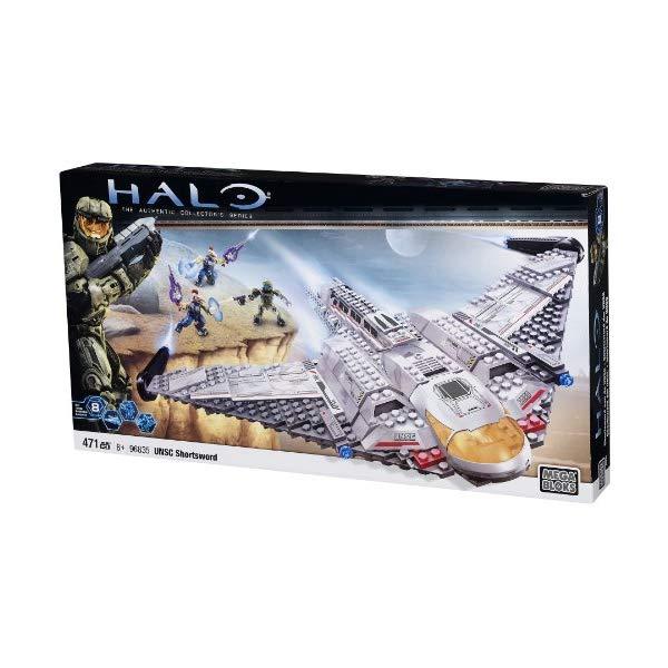メガブロック ヘイロー Mega Bloks Halo 10th Anniversary UNSC Shortsword 471 pcs Set