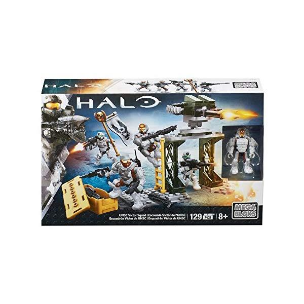 メガブロック メガコンストラックス ヘイロー Mega Construx Halo UNSC Victor Squad