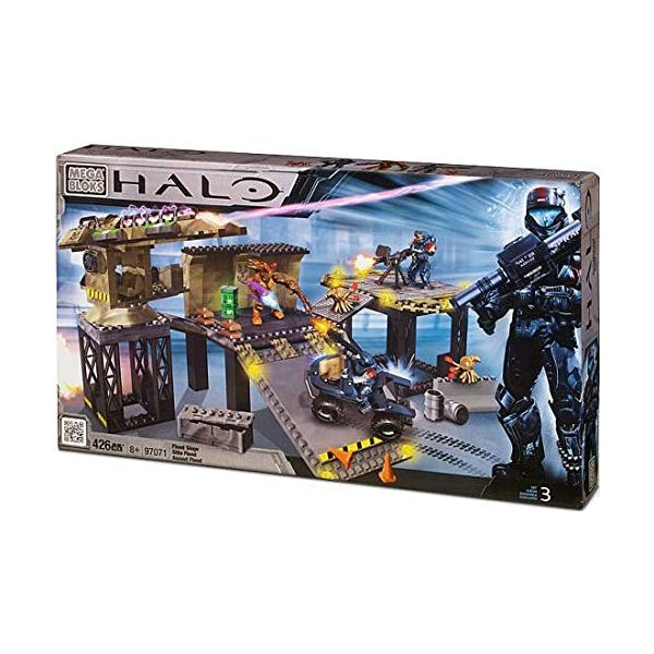メガブロック ヘイロー Mega Bloks Halo Covert Ops: Flood Siege Exclusive Set #97071