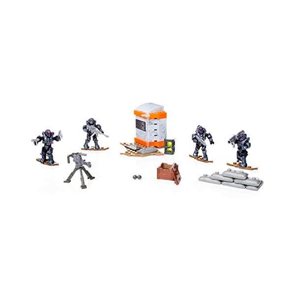 メガブロック メガコンストラックス ヘイロー Mega Construx Halo Spartans of Fireteam Shadow Building Set