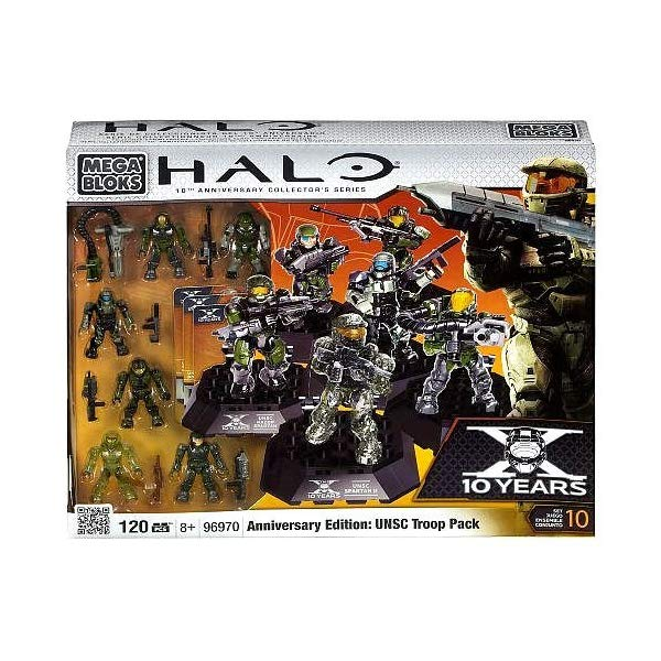 メガブロック ヘイロー Halo Mega Bloks Set #96970 Anniversary Edition UNSC Troop Pack by Mega Brands