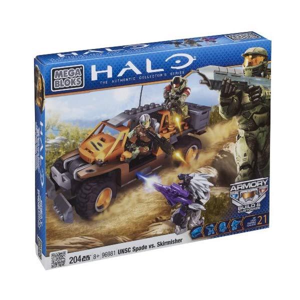 メガブロック ヘイロー Mega Bloks, Halo, UNSC Spade vs. Skirmisher (96981)