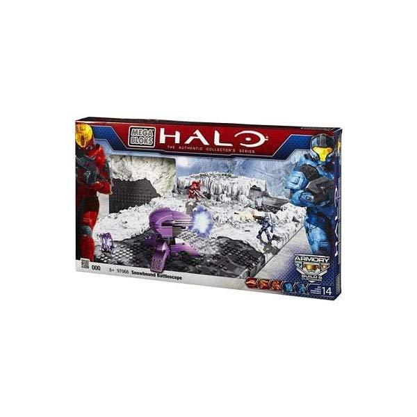 メガブロック ヘイロー Halo Mega Bloks Exclusive Set #97068 Versus Snowbound Battlescape