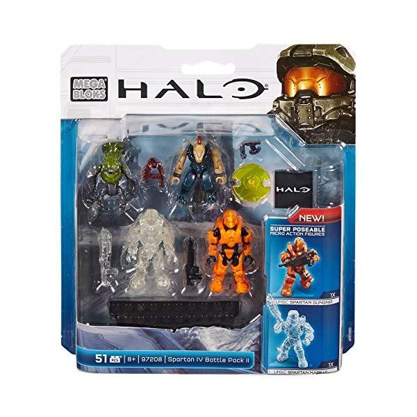 メガブロック ヘイロー Mega Bloks, Halo, Spartan IV Battle Pack II (97208)