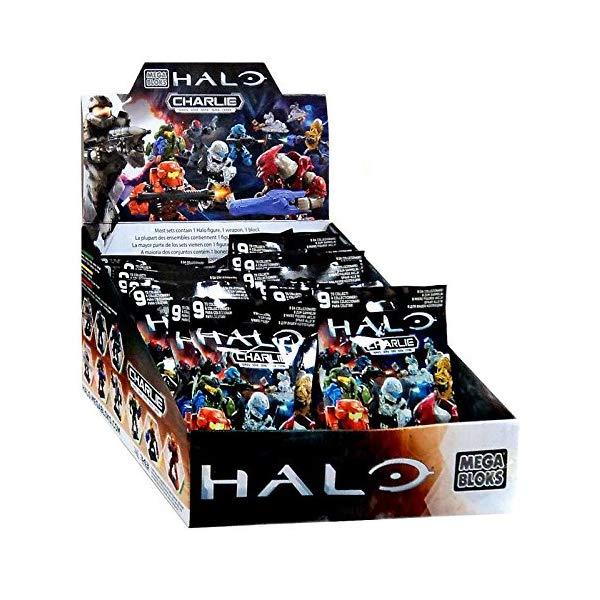 メガブロック ヘイロー Mega Bloks Halo Charlie Mystery Box [24 Packs]