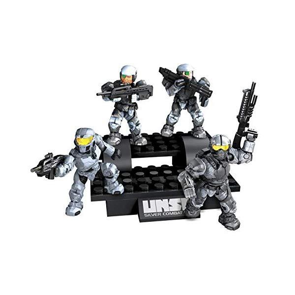 メガブロック ヘイロー Halo UNSC Silver Combat Unit
