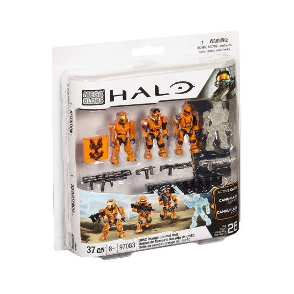 メガブロック ヘイロー Halo Mega Bloks Set #97083 UNSC Combat Orange Unit