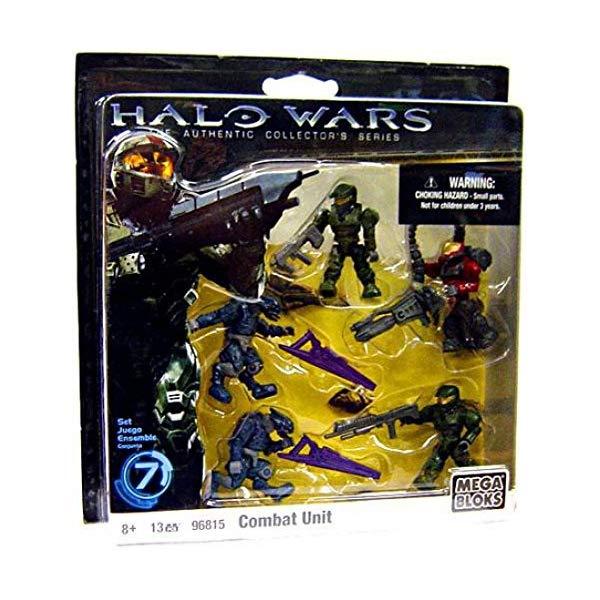 メガブロック ヘイロー Halo Wars Mega Bloks Exclusive Set #7 Combat Unit [Contains 5 Mini Figures!]