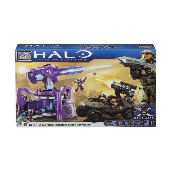 メガブロック ヘイロー Megabloks Halo UNSC Rockethog vs Anti Aircraft Gun