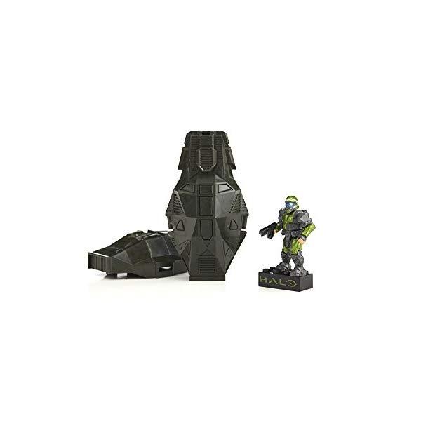 メガブロック ヘイロー Mega Bloks Halo Drop Pod Metallic Toy Figure Assortment