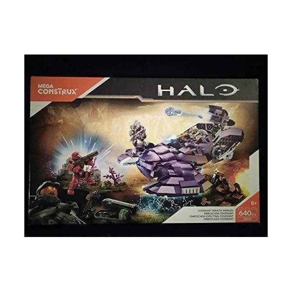 メガブロック メガコンストラックス ヘイロー Mega Construx Halo Covenant Wraith Ambush 640 Pcs DPJ93 New In Unopened Box