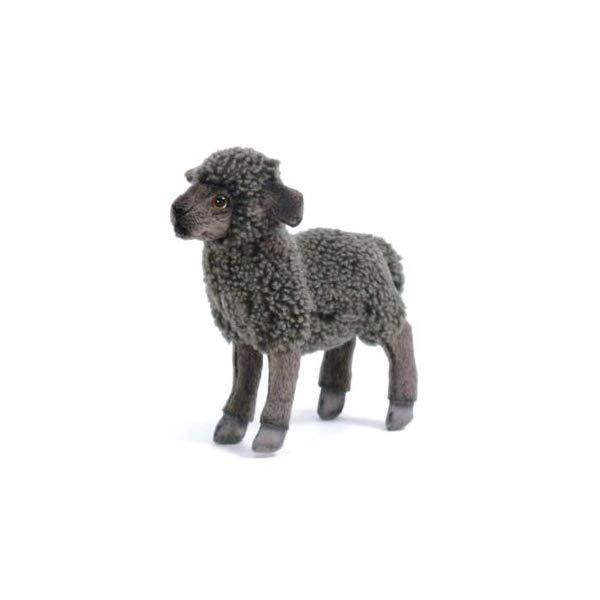 ハンサ 羊 ヒツジ ブラック 黒 ぬいぐるみ Hansa Kid Sheep Plush, 黒