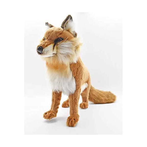 ハンサ キツネ 狐 レッド 赤 17インチ Red Fox Standing 17