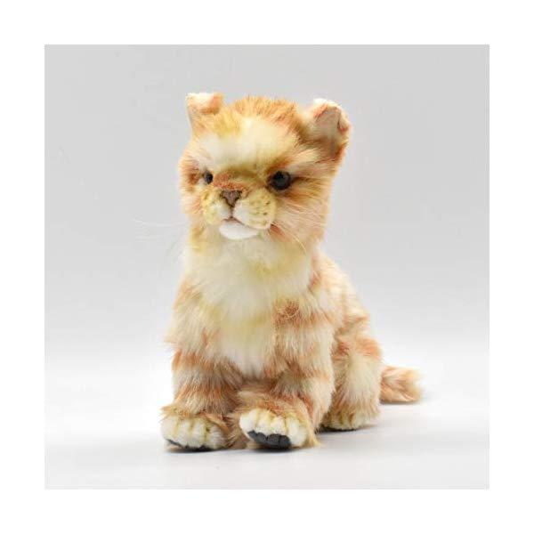 ハンサ 子猫 茶トラ猫 ぬいぐるみ Hansa Ginger Kitten Plush
