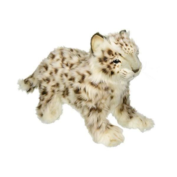 ハンサ スノーレパード ユキヒョウ ヒョウ 豹 ぬいぐるみ Hansa Laying Snow Leopard Plush