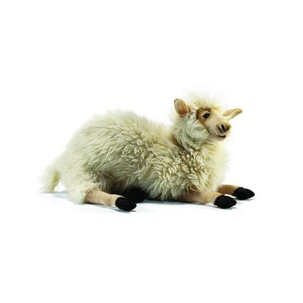 ハンサ 羊 ヒツジ お母さん ぬいぐるみ Hansa Mama Sheep Plush