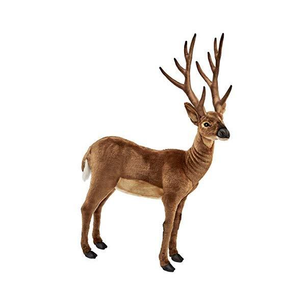 ハンサ シカ 鹿 白いしっぽ ぬいぐるみ Hansa White Tailed Deer Plush