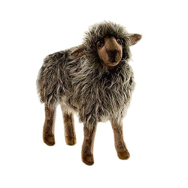 ハンサ 羊 ヒツジ お母さん ブラック 黒 ぬいぐるみ 14インチ Hansa Black Mama Sheep 14
