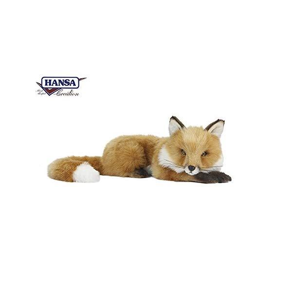ハンサ キツネ 狐 ブラウン 茶色 Hansa 6990 Toys - Fox, Floppy, Brown, 18 inches