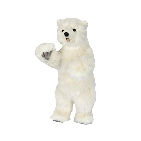 ハンサ フロッピー ポーラーベアー シロクマ 白熊 白くま ホッキョクグマ 子供 14インチ ぬいぐるみ Hansa Polar Cub on 2 Feet 14