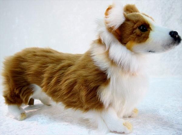 ハンサ コーギー イヌ 犬 ぬいぐるみ Hansa 6684 Toys - Welsh Corgi, 9 inches