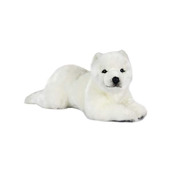 ハンサ フロッピー ポーラーベアー シロクマ 白熊 白くま ホッキョクグマ 子供 17インチ ぬいぐるみ Hansa Polar Cub 17