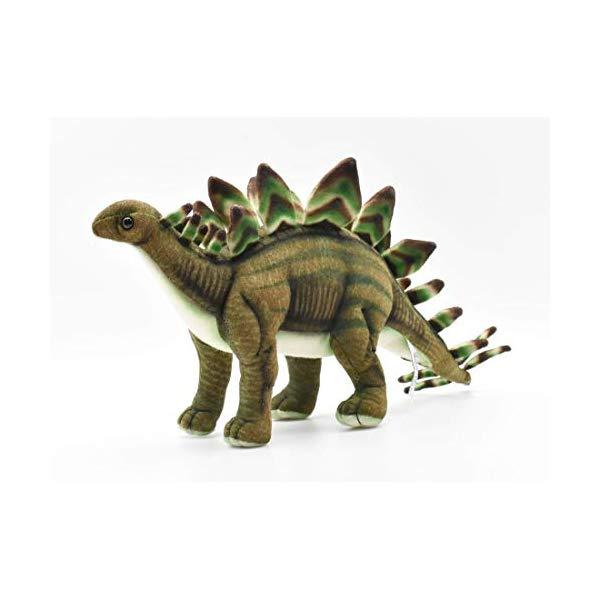 ハンサ ステゴザウルス 恐竜 ぬいぐるみ Hansa Stegosaurus Dinosaur 16.5