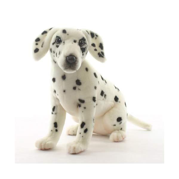 ハンサ ダルメシアン 子犬 ぬいぐるみ Hansa Sitting Dalmatian Puppy Plush