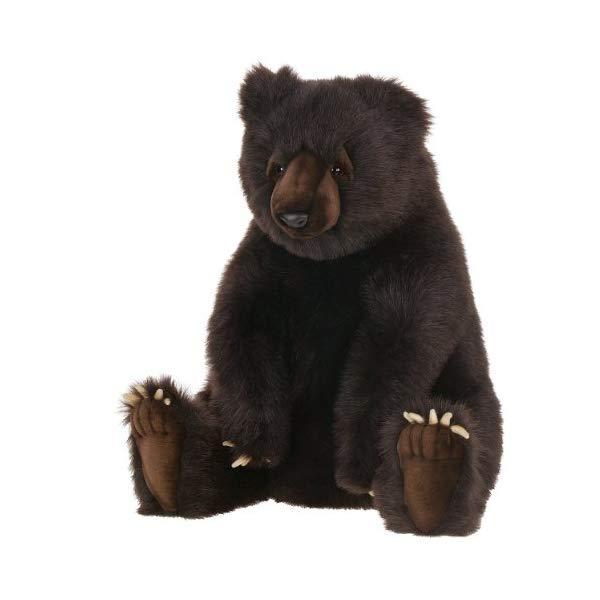 ハンサ クマ 熊 ブラウン 茶色 24インチ ぬいぐるみ Hansa - 24