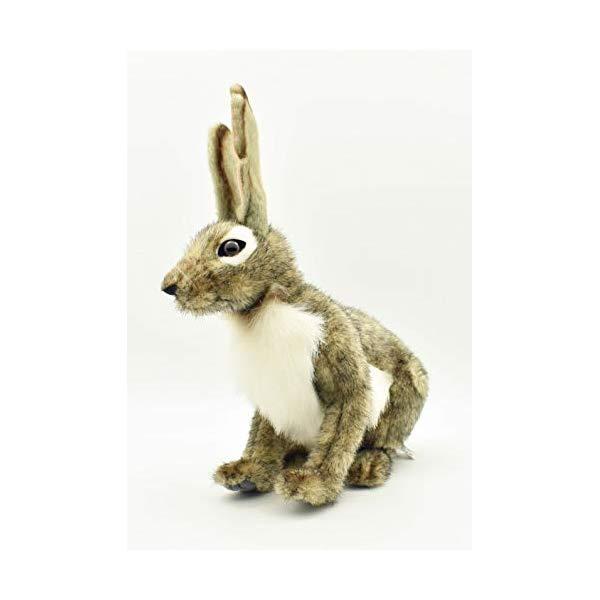 ハンサ ウサギ 兎 うさぎ ジャックラビット 野ウサギ ぬいぐるみ Hansa Jack Rabbit Plush