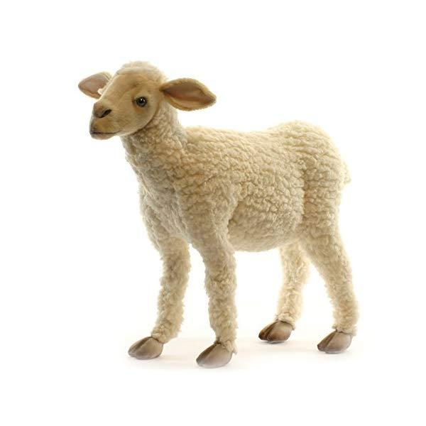 ハンサ 子羊 コヒツジ 赤ちゃん 20インチ ぬいぐるみ Hansa Life Size Baby Lamb 20