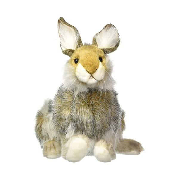 ハンサ ウサギ ブラウン 茶色 ぬいぐるみ Hansa Hare Plush, Brown