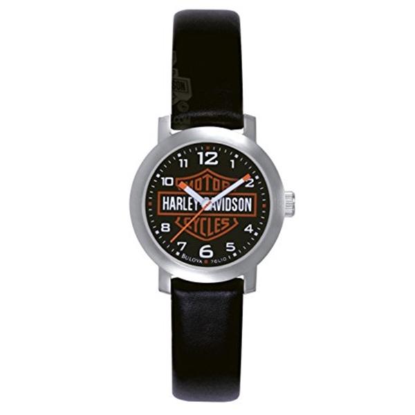 ハーレーダビッドソン Harley-Davidson Harley Davidson 腕時計 時計 Harley-Davidson Bulova Women's Watch. 76L10