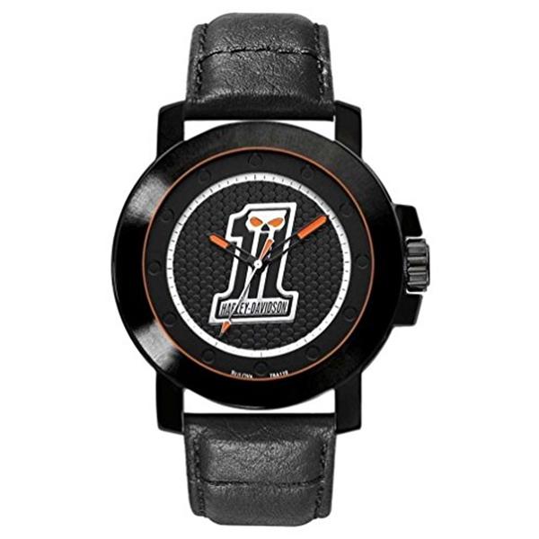 ハーレーダビッドソン Harley-Davidson Harley Davidson 腕時計 時計 Harley-Davidson Men's Bulova Wrist Watch. 78A110