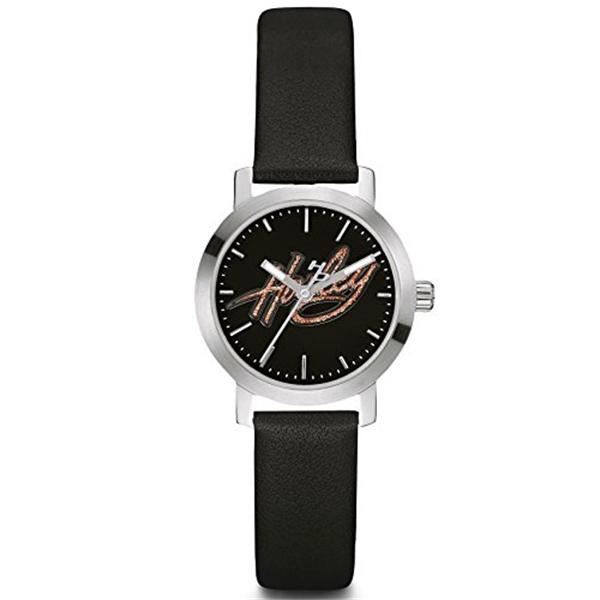 ハーレーダビッドソン Harley-Davidson Harley Davidson 腕時計 時計 Harley-Davidson Women's Bulova Watch, Glitter Harley Script, Black Strap 76L175