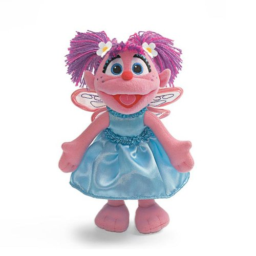 Abby Cadabby Bendable Poseable Plush Sesame Street Sesame Street Figure Skating 9 Inches Stuffed Doll By Gund
