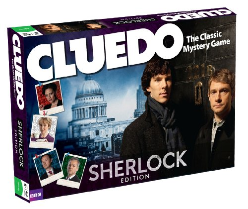 当店だけの限定モデル Cluedo Sherlock Edition シャーロック Sherlock クルード Cluedo Edition, ナルサワムラ:b4ae5bac --- konecti.dominiotemporario.com
