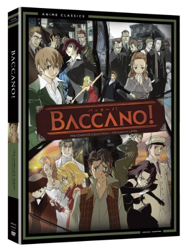 バッカーノ! Baccano: コンプリートシリーズ The Complete Series (Viridian Collection) DVD3枚組 北米版