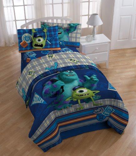 Disney Monster University ディズニー モンスターズユニバーシティ シーツセット ツイン 寝具3点セット Scare-Care Sheet Set, Twin