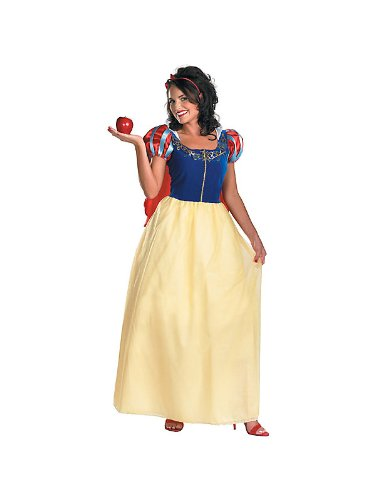 Disguise ディズニー 白雪姫 コスチューム Disney Snow White Deluxe Adult Costume, Yellow/Red/Blue