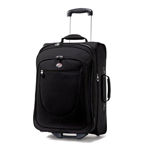 American Tourister アメリカンツーリスター ラゲッジ 21インチ ブラック Luggage Splash 21 Upright Suitcase, Black, 21 Inch