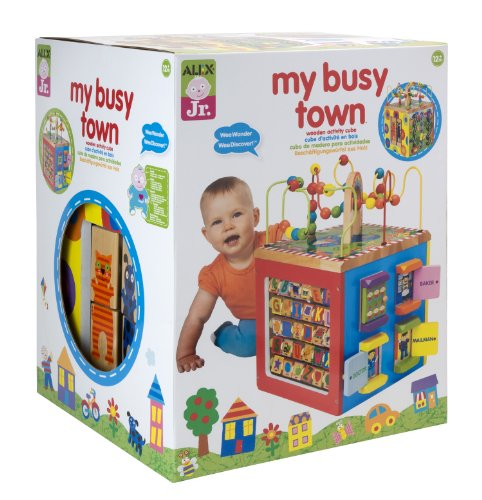 【税込】 ALEX Busy Toys アレックス・トイズ ALEX Alex Jr. My Busy Town My -Baby Wooden Developmental Toy 4W, サラダ スタイル:6352dd06 --- canoncity.azurewebsites.net