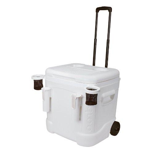 Igloo イグルー クーラーボックス アイスキューブ マリンウルトラクーラー 56リットル Ice Cube Marine Ultra Roller Cooler (60 Quart, White)