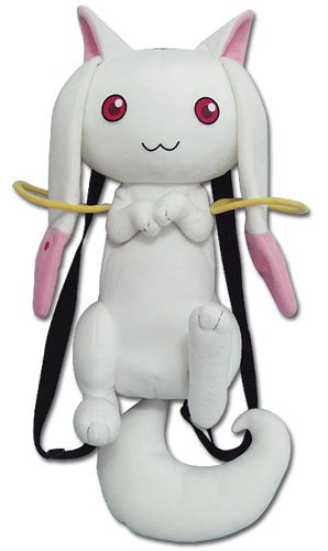 Madoka Magica 魔法少女まどかマギカ キュウべぇ リュック バックパック Plush Bag