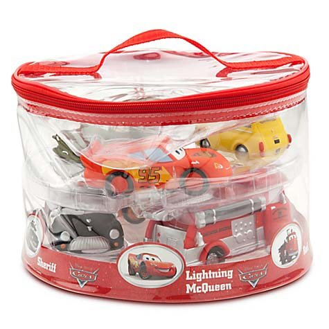 Disney Parks ディズニーパーク デラックス カーズ Deluxe Cars 6体セット おふろおもちゃ Squeeze Bath Toys Set - Disney Parks Exclusive & Limited Availability