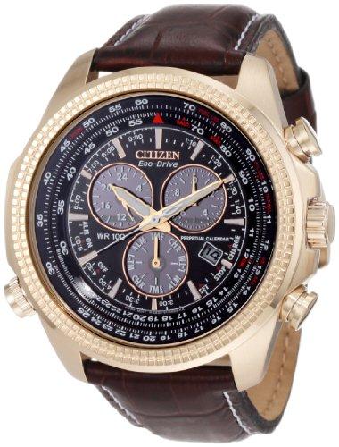 "Citizen シチズン メンズ腕時計 エコドライブ Men""s BL5403-03X Eco-Drive Perpetual Calendar Chronograph Watch"